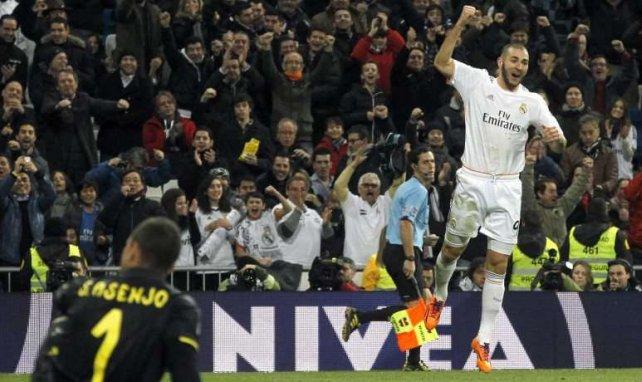 Karim Benzema tiene un gran cartel en Inglaterra