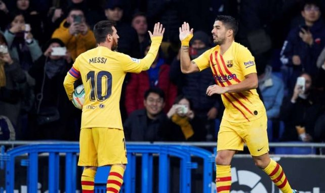 Luis Suárez está rindiendo a un nivel fantástico en Barcelona