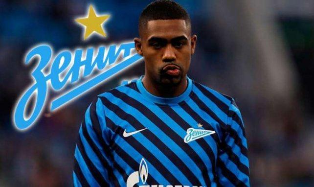 Malcom apenas ha podido jugar en el Zenit
