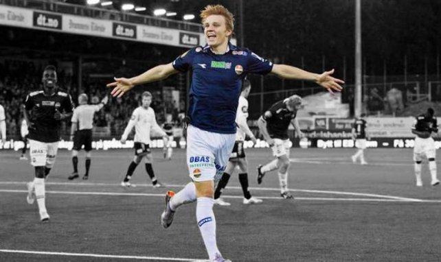 Martin Odergaard se aproxima al Liverpool