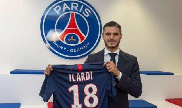 Mauro Icardi aterriza en París