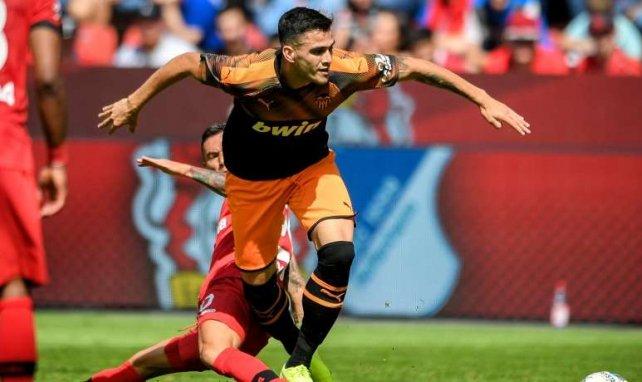 Maxi Gómez es la novedad ofensiva del Valencia