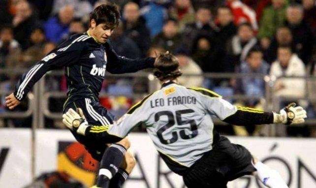 Morata ya ha debutado con el primer equipo merengue