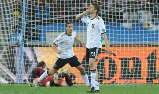 Müller y Klose son los goleadores de Alemania en el Mundial
