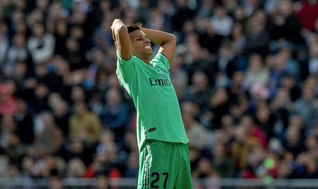 Rodrygo ha vuelto a ser titular con el Real Madrid