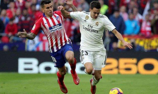 Sergio Reguilón brilló ante el Atlético de Madrid