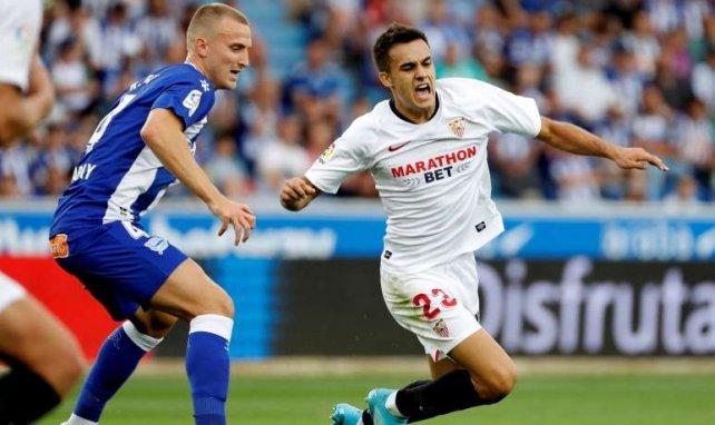 El Sevilla expone sus planes para Sergio Reguilón