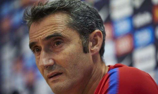 Valverde ha atendido a los medios de comunicación