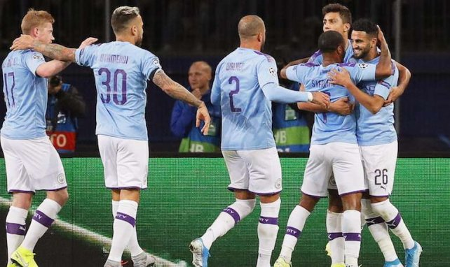 Victoria plácida del Manchester City