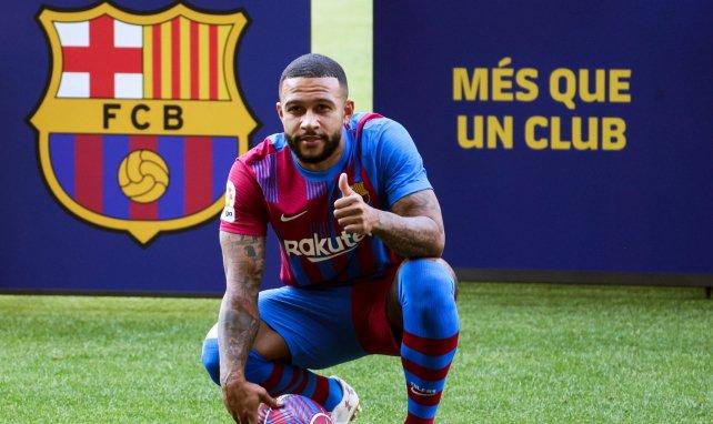Fichajes FC Barcelona | Memphis Depay, presentado en sociedad