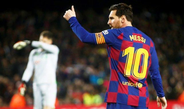 El optimismo del FC Barcelona con Lionel Messi