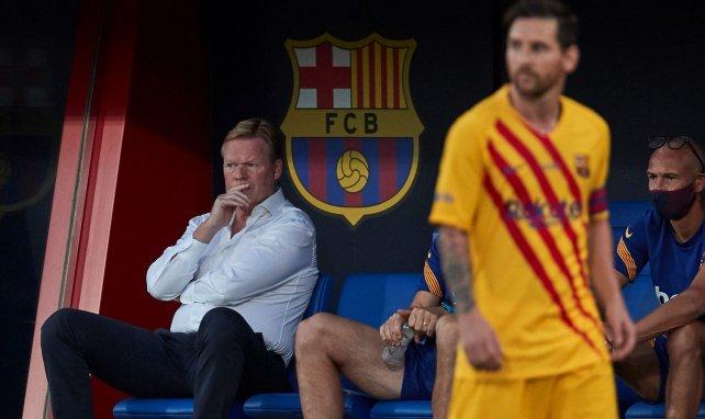 Ronald Koeman alude a la situación de Lionel Messi