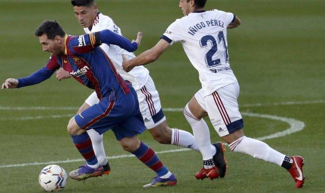 Joan Laporta alude al futuro de Lionel Messi