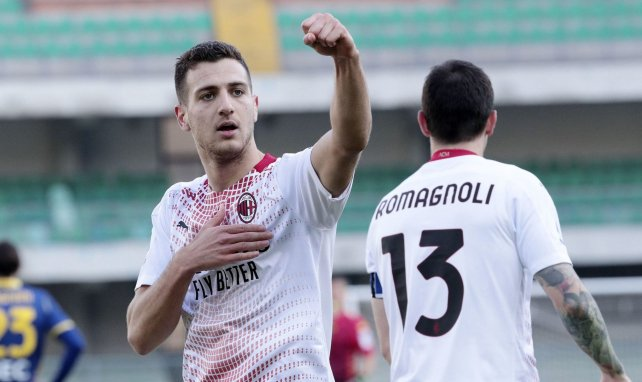 El AC Milan ya negocia para retener a Diogo Dalot