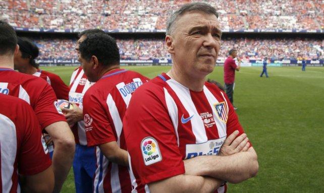 Milinko Pantic quiere sentarse en el banquillo del Atlético.