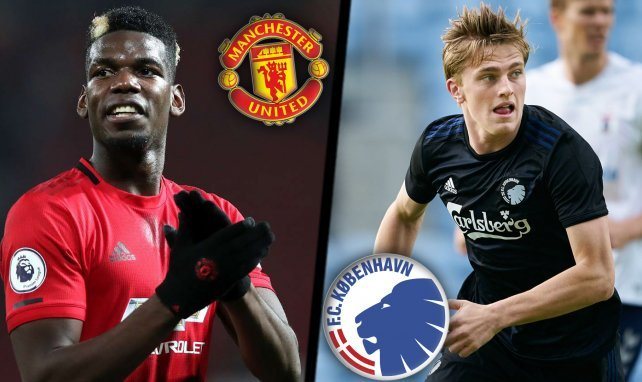 Manchester United - Copenhague | Los onces probables