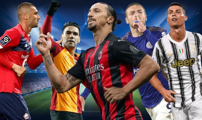 Los veteranos goleadores que siguen dando guerra en Europa
