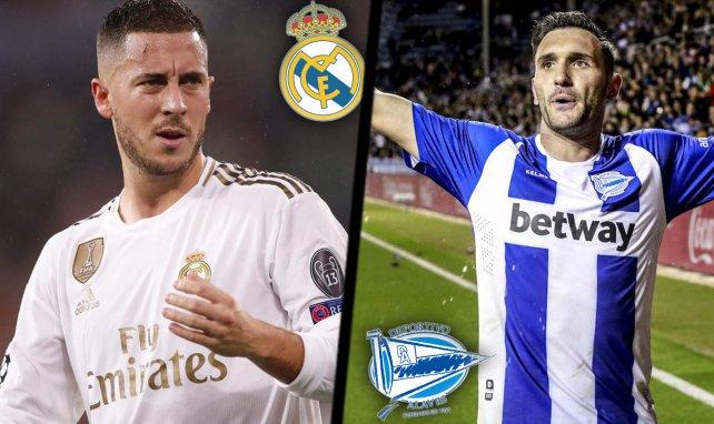 Ya hay onces de Real Madrid y Deportivo Alavés