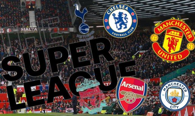Arsenal, Tottenham, Liverpool y MU se caen de la Superliga