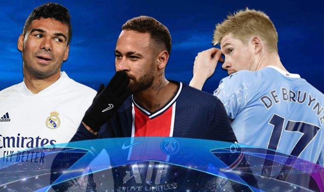 Liga de Campeones | Equipo tipo de la vuelta de cuartos de final