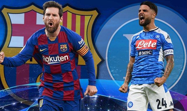 ¡Ya hay onces de FC Barcelona y Nápoles!
