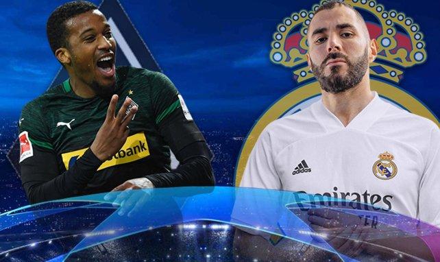 ¡Ya hay onces del Borussia de Mönchengladbach - Real Madrid!