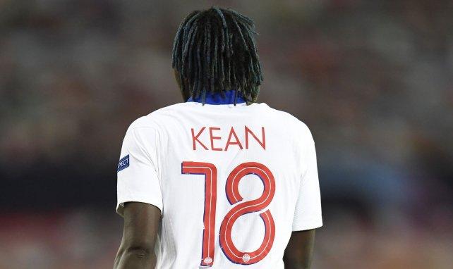 Moise Kean llegó al PSG desde el Everton