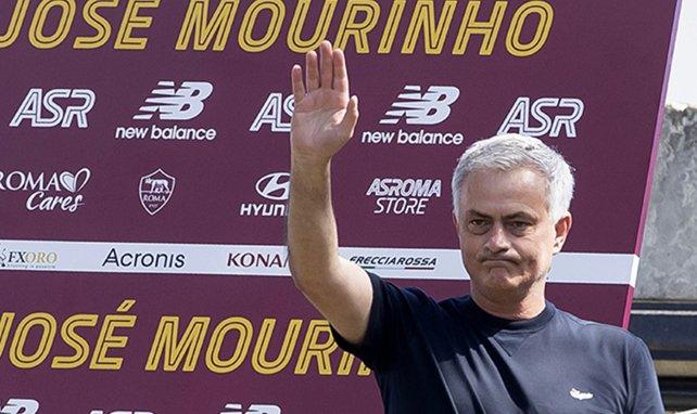 José Mourinho es el entrenador de la AS Roma