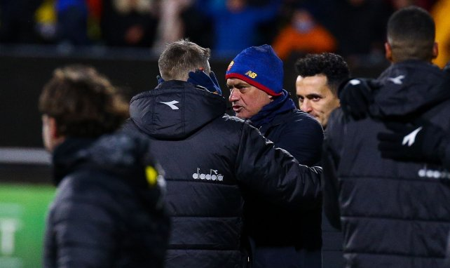 José Mourinho matiza sus palabras al frente de la AS Roma