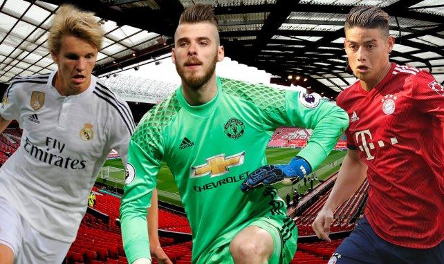 Predicen el XI del Manchester United… ¡tras el trueque con el Real Madrid!