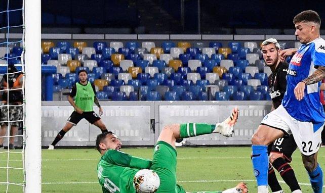 Serie A | Reparto de puntos entre Nápoles y AC Milan