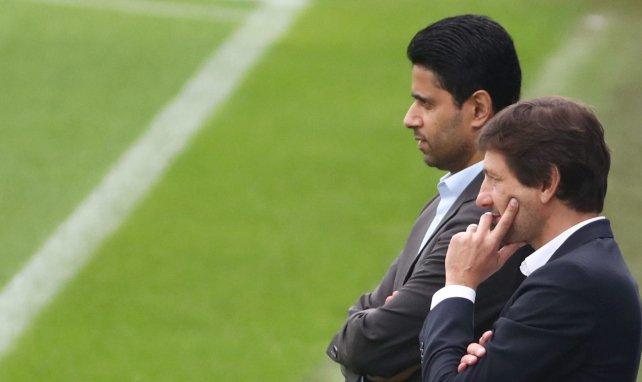 Nasser Al-Khelaïfi y Leonardo planifican el futuro