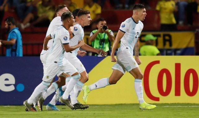 Nehuén Pérez también brilla con las categorías inferiores de Argentina.