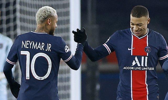 Neymar aleja a Kylian Mbappé del Real Madrid