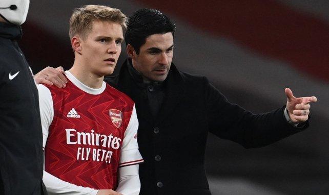 Arsenal | Martin Odegaard no despeja las dudas