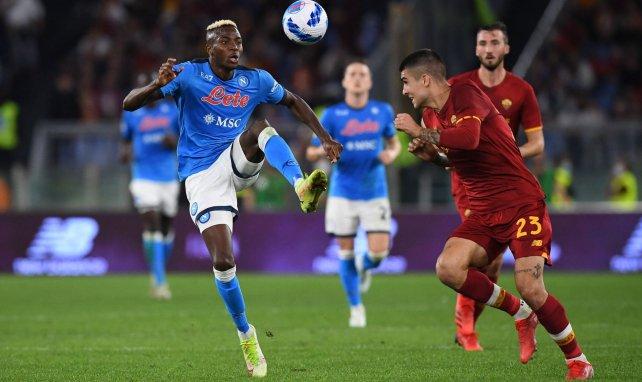 Serie A | AS Roma y Nápoles se neutralizan