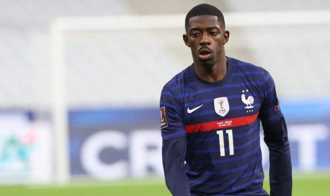 Ousmane Dembélé dice adiós a la Eurocopa