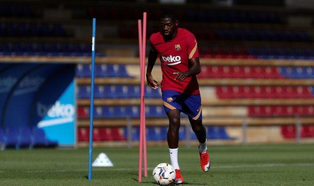 FC Barcelona y Manchester United negocian por Ousmane Dembélé