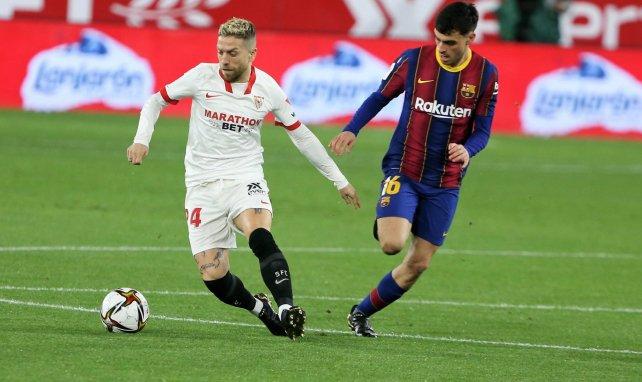 El agente de Papu Gómez aclara su futuro en Sevilla