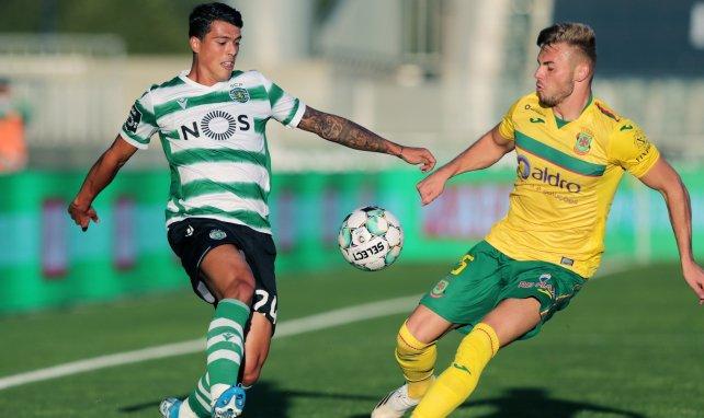 Pedro Porro juega en el Sporting de Portugal