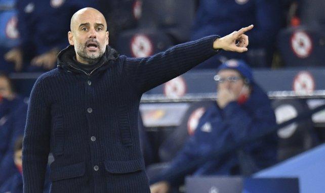 Pep Guardiola alude a la delicada situación del FC Barcelona