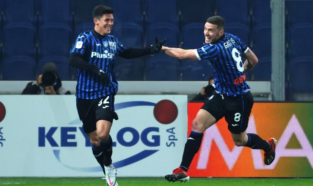 Matteo Pessina celebrando un gol