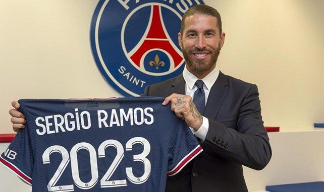Sergio Ramos se pierde el partido del PSG