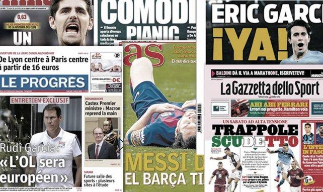 Thibaut Courtois vislumbra el Zamora, duelo entre Inter y Juventus en el mercado
