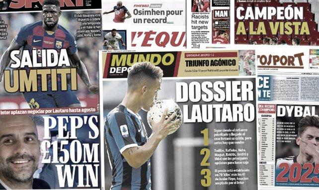 El FC Barcelona busca una salida para Samuel Umtiti, el nuevo entrenador que anhela el Valencia, Pedro Porro pone rumbo a Portugal