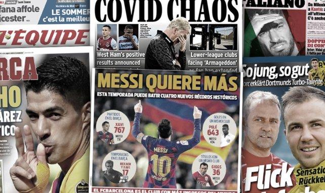 La venta que puede acercar a Kanté al Inter de Milán, los récords que puede batir Lionel Messi en la 2020-2021