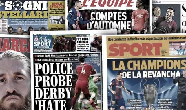 El compromiso de Sergio Ramos, el FC Barcelona busca revancha en la Champions, la extraña situación de Geoffrey Kondogbia
