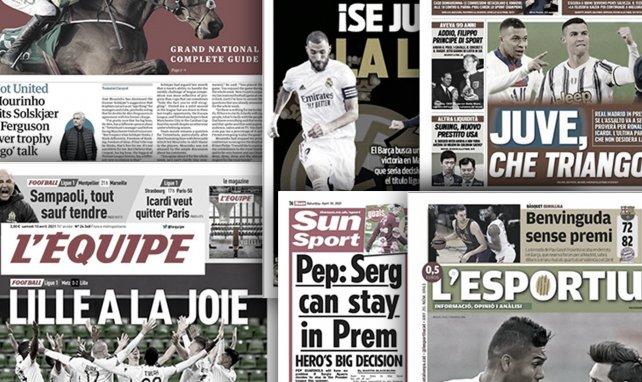 La Liga pasa por el Clásico, el Inter de Milán vuela alto