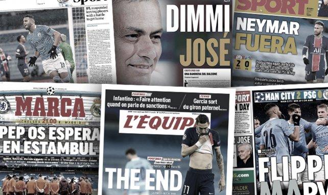 Pep Guardiola ya espera al Real Madrid, el terremoto Mourinho sacude el Calcio