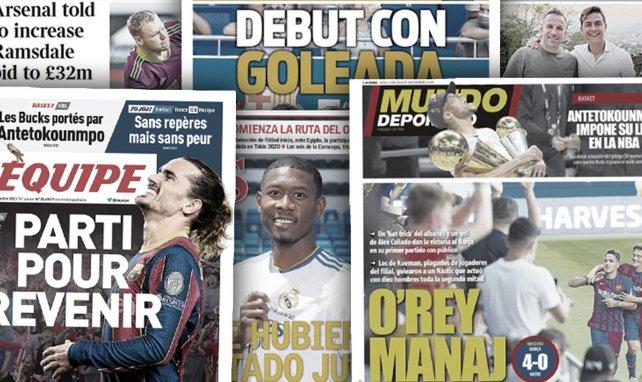 El Real Madrid ya presume de fichaje,  un nuevo dolor de cabeza para el FC Barcelona, el Sevilla ultima un intercambio